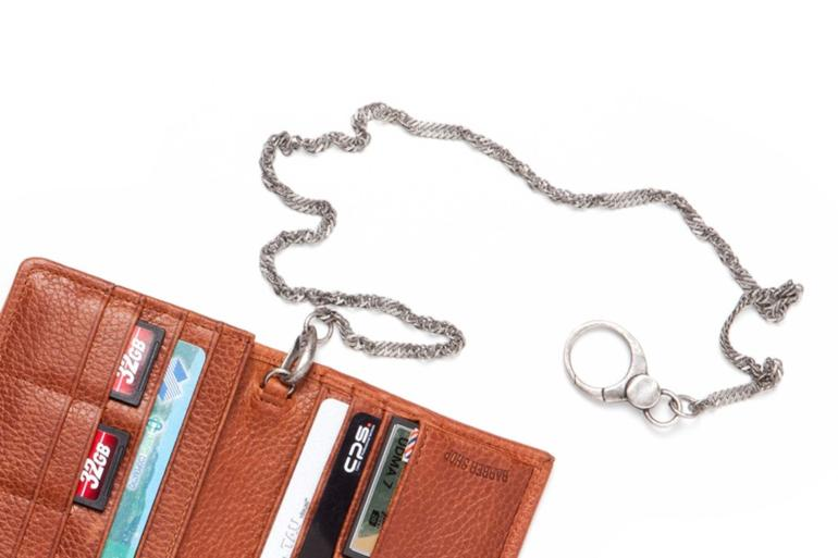 BRASS POCKET CHAIN IN ANTIQUE SILVER COLOR