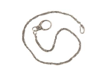 BRASS POCKET CHAIN IN ANTIQUE SILVER COLOR in Antique silver color