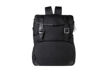 BACKPACK MOP TOP in  Cordura e pelle nera