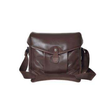 Small Messenger Smart Bob in Dark brown leather